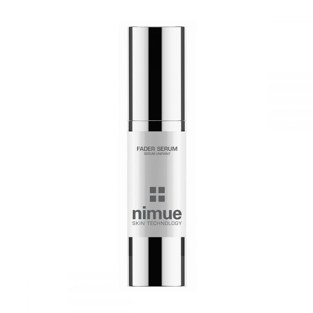 new nimue fader range package serum